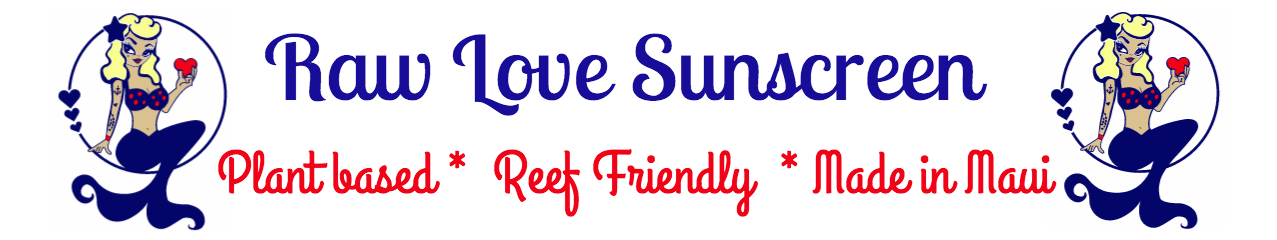 Raw Love  Sunscreen Logo