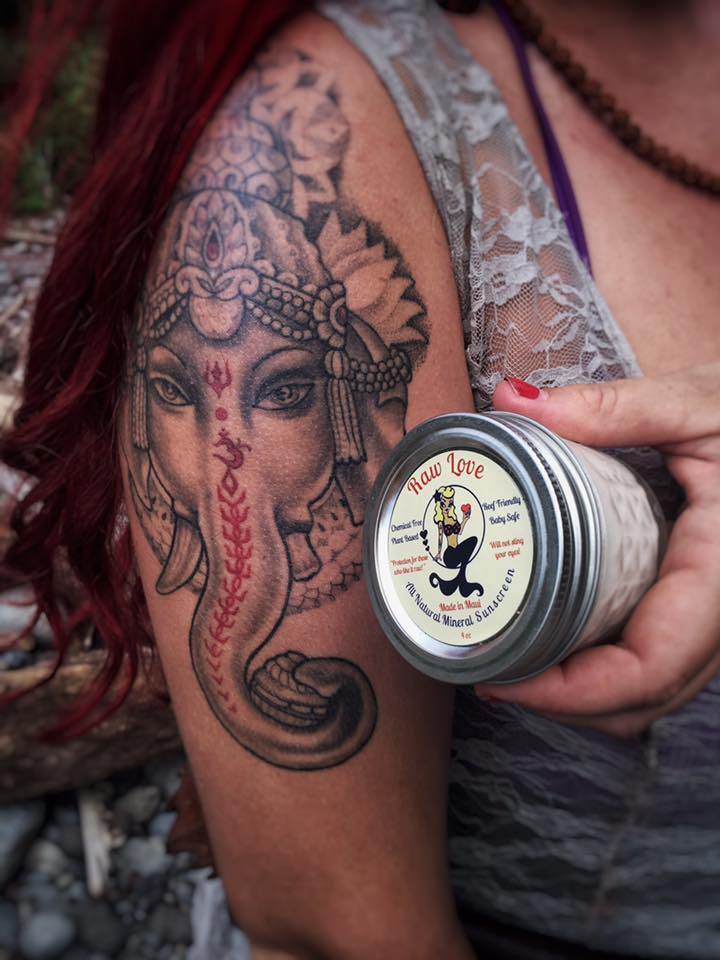 sunscreen for tattoos